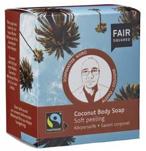 Bilde av Fair Squared Body Soap Coconut peeling